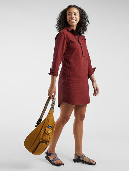 Wren Utility Shirt Dress: Image 3