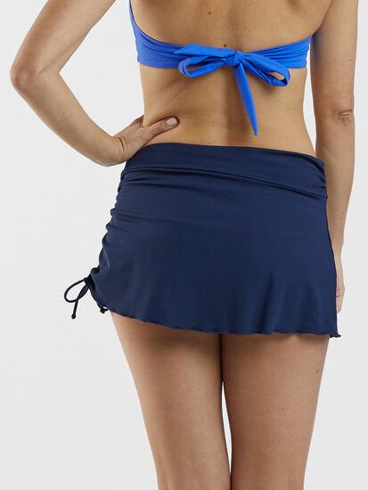 Hoku Swim Skirt - Solid: Image 4