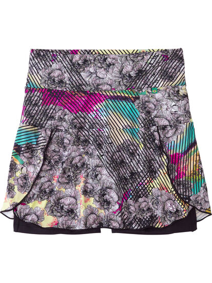 Terraferma Skort - Graffiti Bloom: Image 1