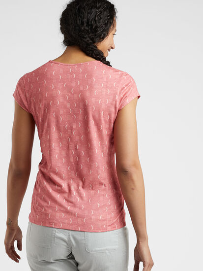 Henerala Short Sleeve Top - Moon Dot: Image 3
