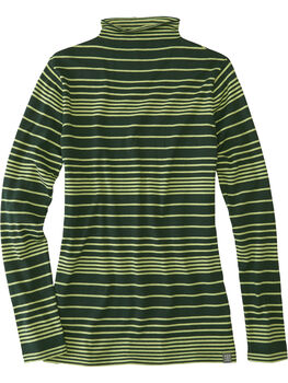 Synergy Mock Neck Sweater - Stripe