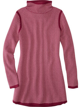 Barra Tunic Sweater - Herringbone