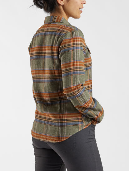 Timeless Flannel Long Sleeve Top: Image 4