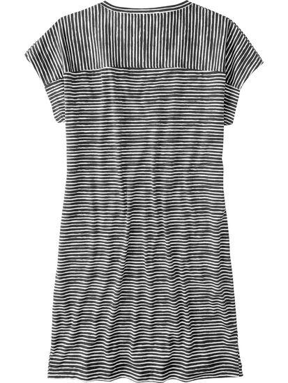 Hiolani V Neck Dress - Painted Stripe: Image 2