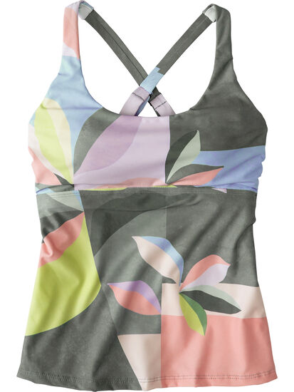 Real Deal Tankini Top - Montego Bay: Image 1