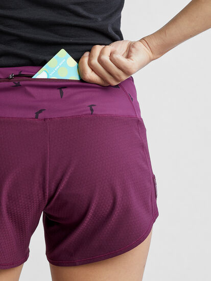 """Obsession Running Shorts 4"""" - Solid: Image 4"""