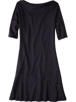 Buttah Boatneck Dress - Solid