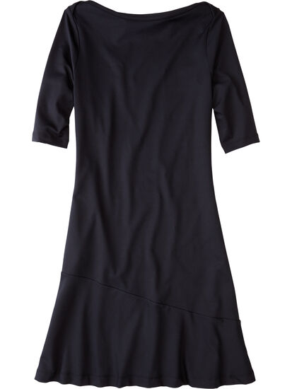 Buttah Boatneck Dress - Solid: Image 1