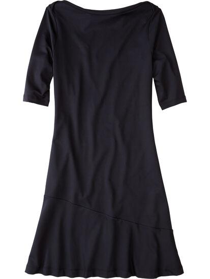 Buttah Boatneck Dress - Solid: Image 1