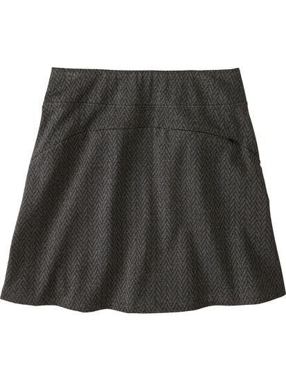 Passport Ponte Skirt - Herringbone: Image 2