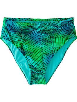 Streamline High Waisted Bikini Bottom - Kigali