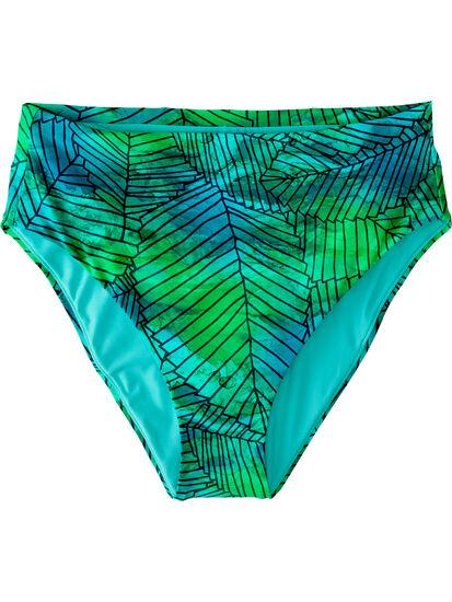 Streamline High Waisted Bikini Bottom - Kigali: Image 1