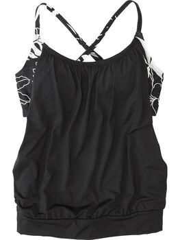 Double Up Blouson Tankini Top - Wailuku