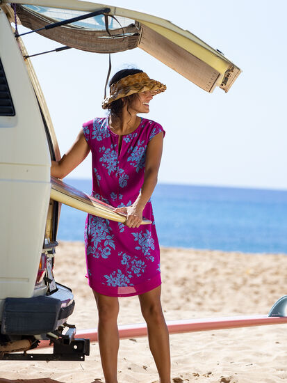 Sunbuster UPF Dress: Model Image
