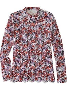 Skimboard Sun Shirt - Poppy