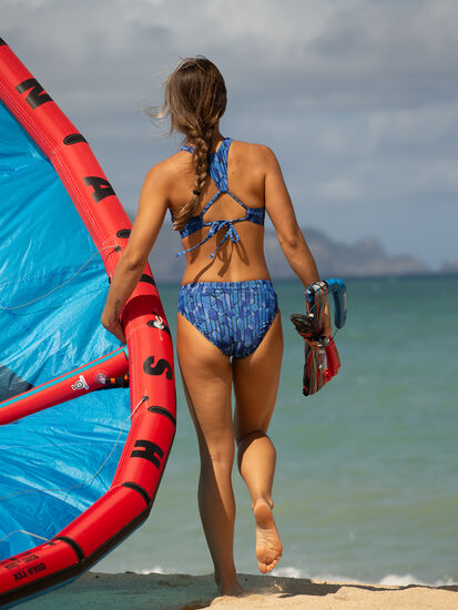 Selkie High Neck Bikini Top - Socorro, , original