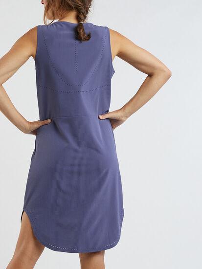 Cirrus Lasercut Dress - Crinkle: Image 4