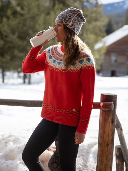 Voss Sweater: Model Image