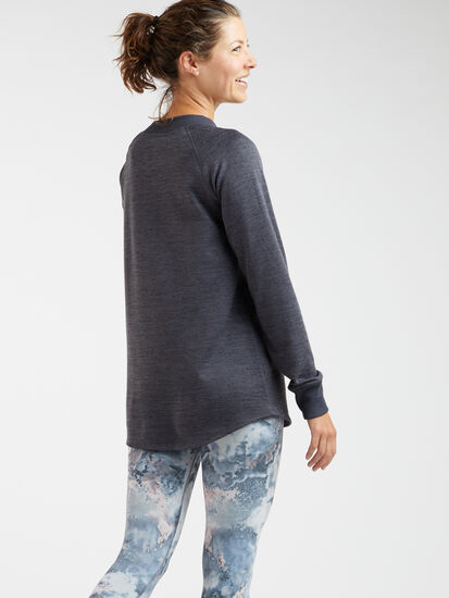 Universal Crew Neck Tunic Top: Image 6