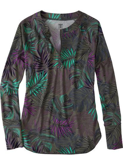 Sunbuster Long Sleeve 1/4 Zip Pullover - Aloha, , original