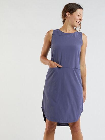 Cirrus Lasercut Dress - Crinkle: Image 3