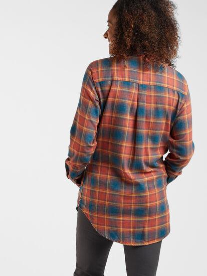 Plaiditude Droptail Long Sleeve Shirt: Image 4