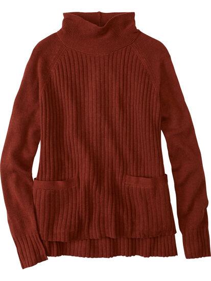 Perma Mock Neck Sweater: Image 1