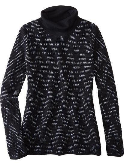 Striking Turtleneck Sweater: Image 1