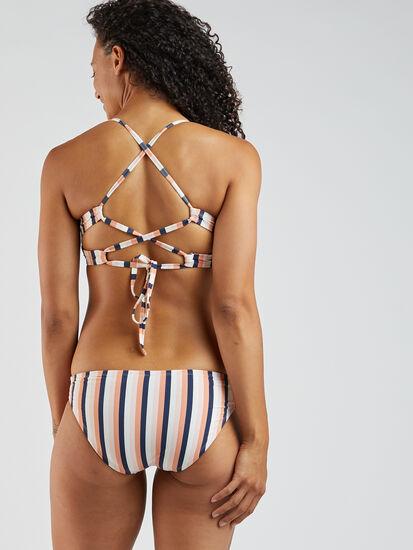 Capitola Underwire Bikini Top - Stripe: Image 3
