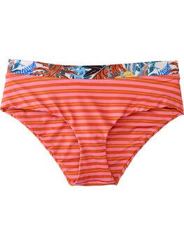 Hipster Bikini Bottom - Fern Stripe