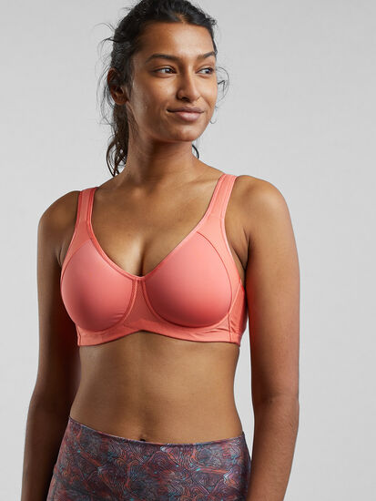 Cuz She Says So Underwire Sports Bra: Image 1