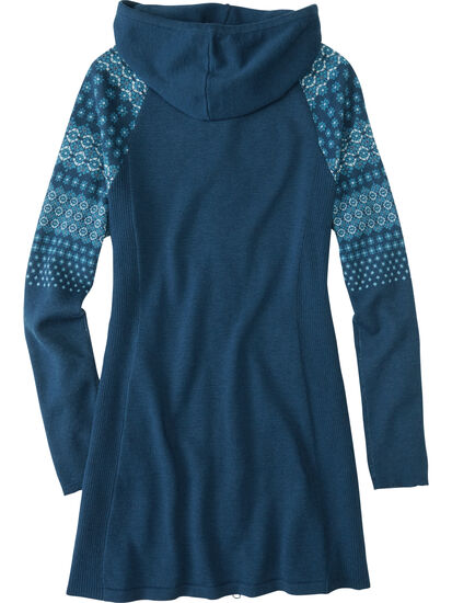 Woolicious Full Zip Sweater Tunic: Image 2