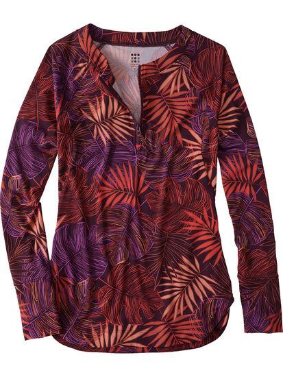 Sunbuster Long Sleeve 1/4 Zip Pullover - Aloha: Image 1