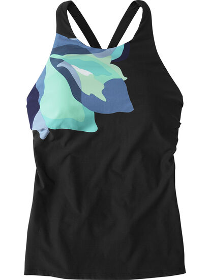 Woman Up Tankini Top - Flower Mix: Image 1