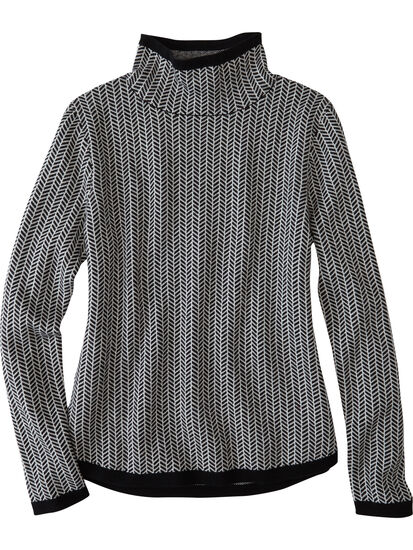 Barra Sweater - Herringbone: Image 1