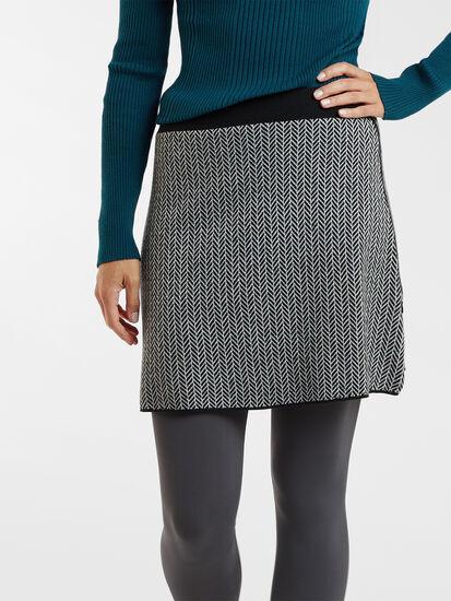 Super Power Skirt - Herringbone: Image 3