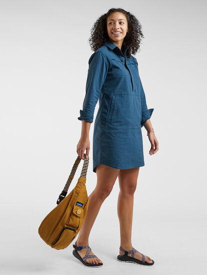 Wren Utility Shirt Dress: Image 3
