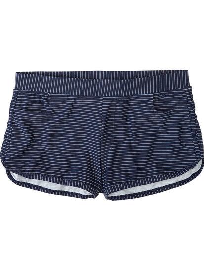 Leadbetter Swim Short - Navy Stripe: Image 1