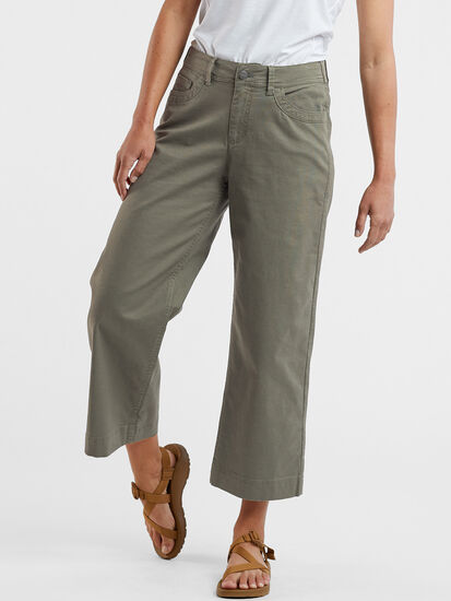 Miraculous Wide Leg Cropped Pants: Image 3