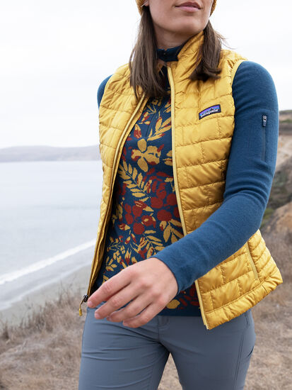 Jag Insulated Puffer Vest: Model Image