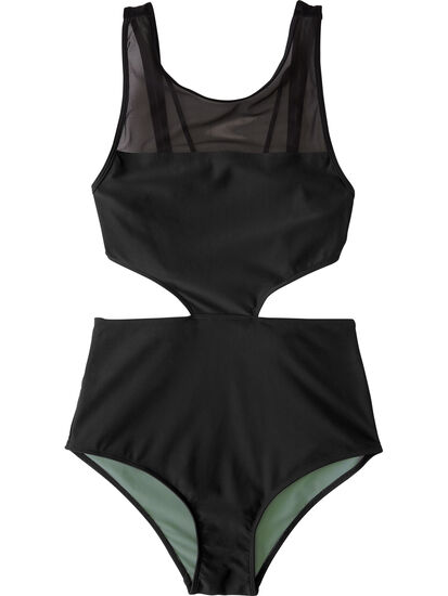 Veronica Cut Out One Piece Swimsuit: Image 1
