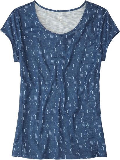 Henerala Short Sleeve Top - Moon Dot: Image 1
