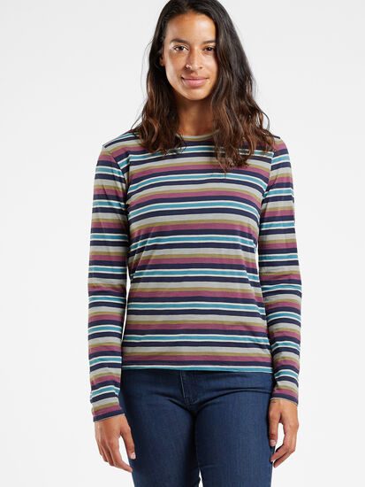 Equinox Long Sleeve Top: Model Image
