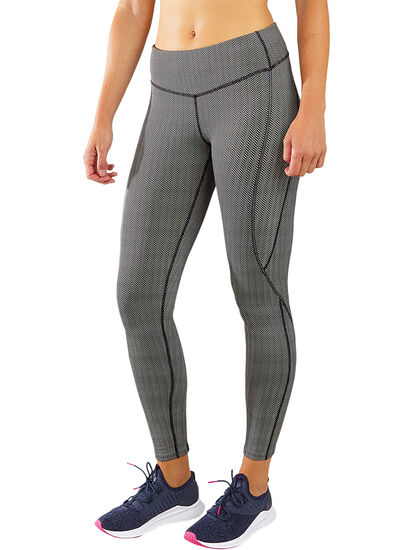 Herringbone Distance Run Tights: Image 1