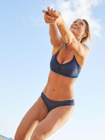Tidal Rave Underwire Bikini Top - Colorblock: Image 4