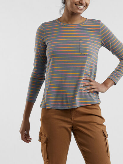 Aviatrix Long Sleeve Pocket Tee: Image 3