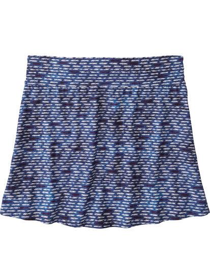 Aquamini Skirt - Shibori Mini: Image 2
