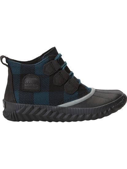 Urban Duck Boot - Teal Plaid: Image 2