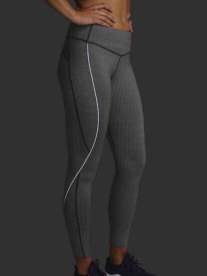 Herringbone Distance Run Tights: Image 4