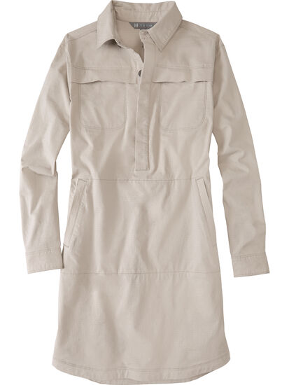 Wren Utility Shirt Dress: Image 1